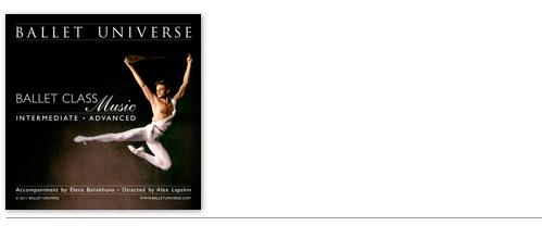 Ballet Class Music for Intermediate/Advanced Students featuring Alex Lapshin